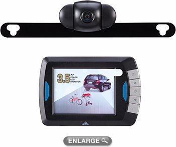 """Peak 3.5"""" LCD Full Color Wireless Back-Up Camera System"""