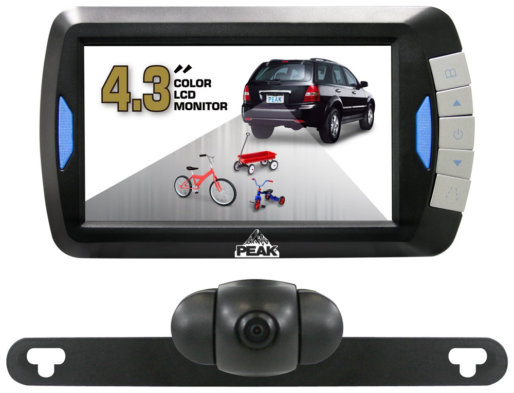"Image of ""Peak 4.3"""" LCD Full Color Wireless Back-Up Camera System"""