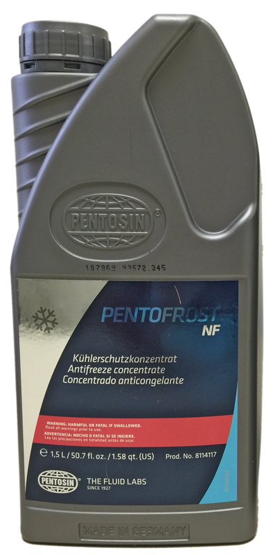 Image of Pentofrost NF Longtime Anti-Freeze/Coolant For Aluminum Engines 1.5 L