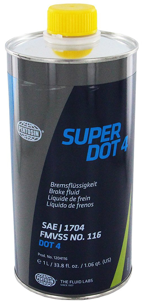 Image of Pentosin Super DOT4 Brake Fluid 1 Liter