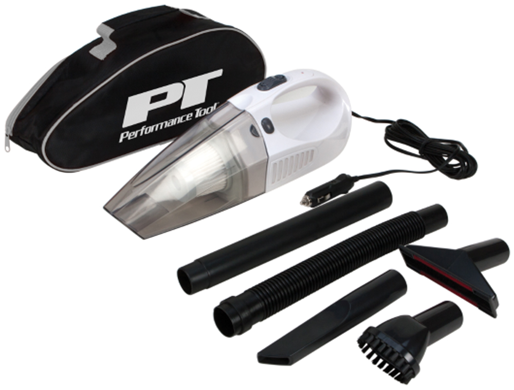 Image of Performance Tool 12 Volt Portable Vacuum Cleaner