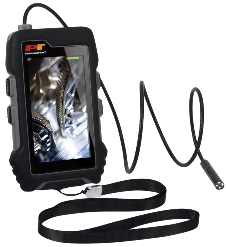 "Image of Performance Tool 4.3"" LCD Flexible LED Inspection Camera"