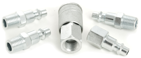 Image of Performance Tool 5 Piece Coupler Set