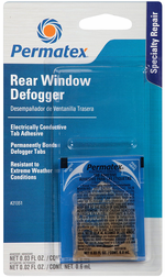 Saddleman Seat Covers >> Permatex® Electrically Conductive Rear Window Defogger Tab Adhesive - PER21351