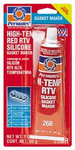 Permatex High-Temp Red RTV Silicone Gasket Maker (3 oz.)
