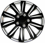 Pilot Automotive Black Label Premier Wheel Cover (Set of 4)