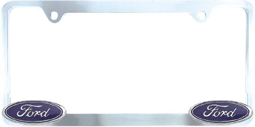 Pilot Chrome Ford License Plate Frame - PILWL021-C