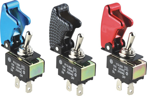 Enlightone: Pilot Safety Cover Toggle Switches