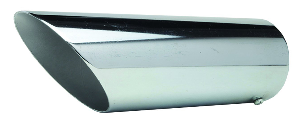 "Image of ""Pilot Universal Steel Bolt-On Turn Down Exhaust Tip (2 5/8"""" x 9"""")"""