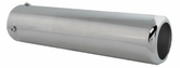 "Pilot Universal Bolt-On Steel Rounded Exhaust Tip (9"" x 2.3"")"