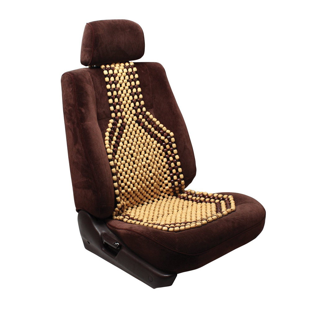 Image of Pilot Wood Bead Cushion Seat Cover