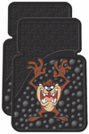 PlastiColor Taz Rubber Car Mats (Pair)