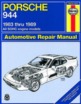 Porsche 944 Haynes Repair Manual (1983-1989)
