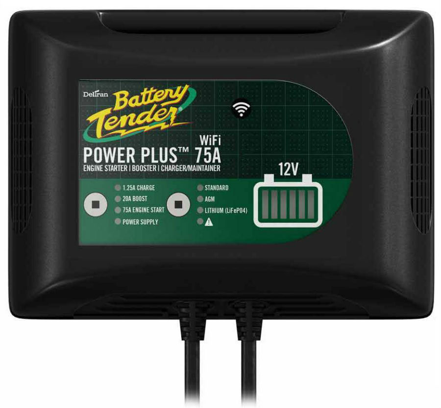 Image of 12V Power Plus 75A Booster Battery Charger with WiFi