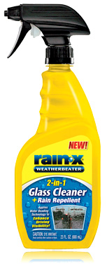 Image of Rain-X 2-in-1 Glass Cleaner & Rain Repellent