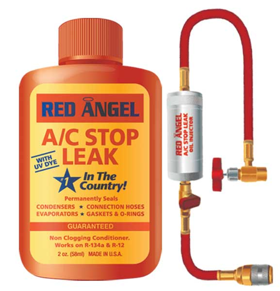 Image of Red Angel A/C Stop Leak & Injector Kit