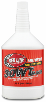 Red line 30wt synthetic racing oil 1 qt rdl10304 for Types of motor oil weight