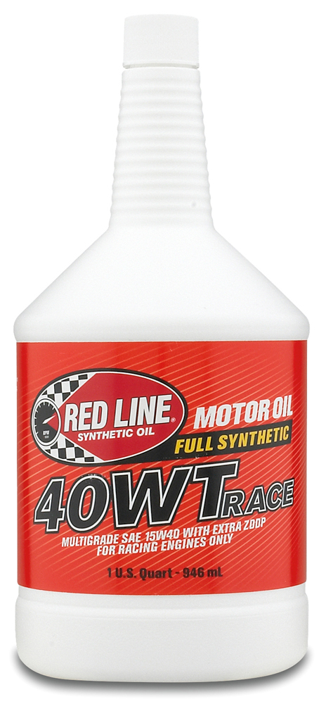 Image of Red Line 40WT Synthetic Racing Oil 1 Qt.