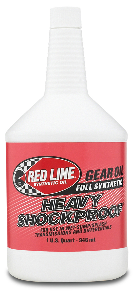 Image of Red Line Heavy ShockProof Gear Oil 1 Qt.