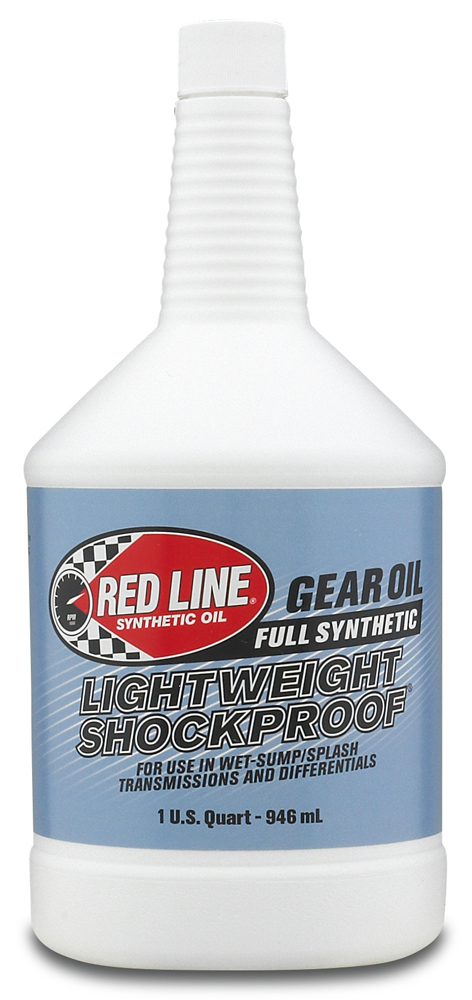 Image of Red Line LightWeight ShockProof Gear Oil 1 Qt.