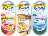 Refresh Odor Eliminating Gel Air Fresheners (2½ oz)