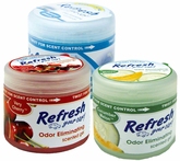 Refresh Odor Eliminating Gel Air Fresheners (4½ oz)