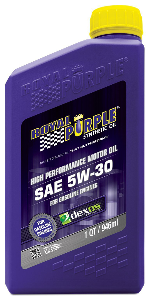 Royal Purple 5W30 Motor Oil (1 Qt.)