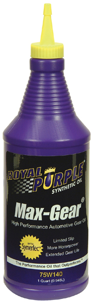 Royal Purple 75W140 Max-Gear Oil