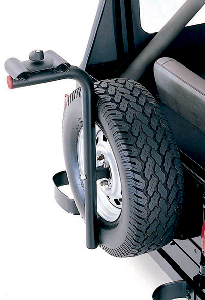 Rugged Ridge Tire Carrier Bike Rack
