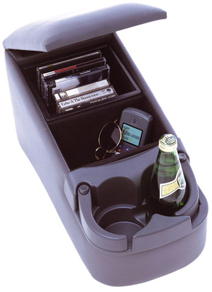 Image of Rugged Ridge Gray Truck Bench Seat Consoles
