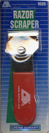 Image of CTA Safety Razor Scraper
