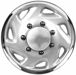 "Sahara 16"" Chrome Plated Truck Wheel Cover"