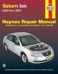 Saturn Ion Haynes Repair Manual (2003-2007)