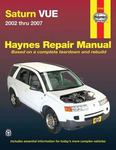 Saturn VUE Haynes Repair Manual (2002-2007)