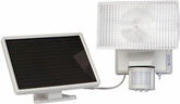 Solar Powered 30 Watt Halogen Security Floodlight