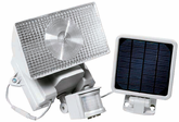 Solar-Powered Motion Activated 10 Watt Halogen Security Light