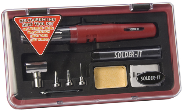 Image of Solder-It Multi-Function 4-in-1 Heat Tool Kit