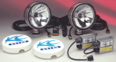 """Stainless 6""""  HID Long Range System by KC HiLites"""