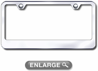 Stainless Steel Polished License Plate Frame Xxxlf 462 C