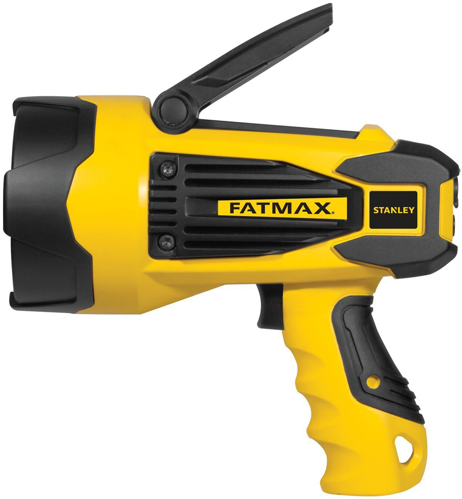 Image of Stanley 10 Watt LED Lithium Ion Rechargeable Spotlight & USB Charger