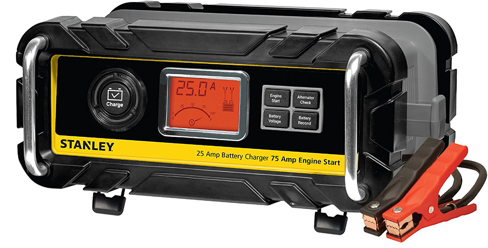 Image of Stanley 25 Amp High Frequency Bench Battery Charger