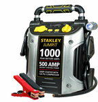 Stanley 500 Peak Amp Jump Starter with Compressor