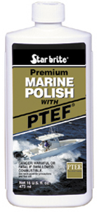 Image of Starbrite Premium Marine Polish Boat Wax With PTEF (16 oz.)