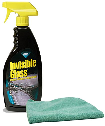 Image of Stoner Invisible Glass Cleaner Spray (22 oz.) & Microfiber Cloth Kit