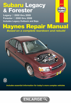 subaru legacy forester haynes repair manual 2000 2009 hay89101 rh autobarn net 2003 subaru baja service manual pdf 2005 subaru baja owner's manual