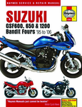 Suzuki GSF600 Haynes Repair Manual (1995 - 2006)