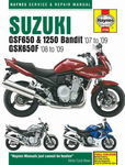 Suzuki GSF650, 1250 Bandit & GSX650F Haynes Repair Manual (2007 -2009)