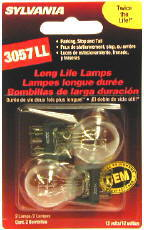 Image of Sylvania 3057LL Long Life Mini Bulbs