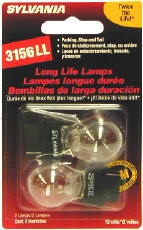Image of Sylvania 3156LL Long Life Mini Bulbs