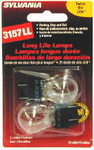 Sylvania 3157LL Long Life Mini Bulbs